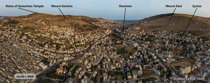 Shechem Panoramic View